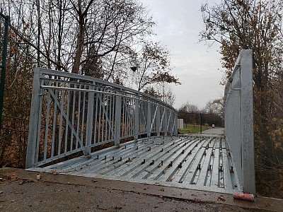 Bridge Installation Galvanized Steel