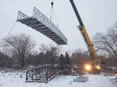 Coyote Bridges Bridge Installation Removal